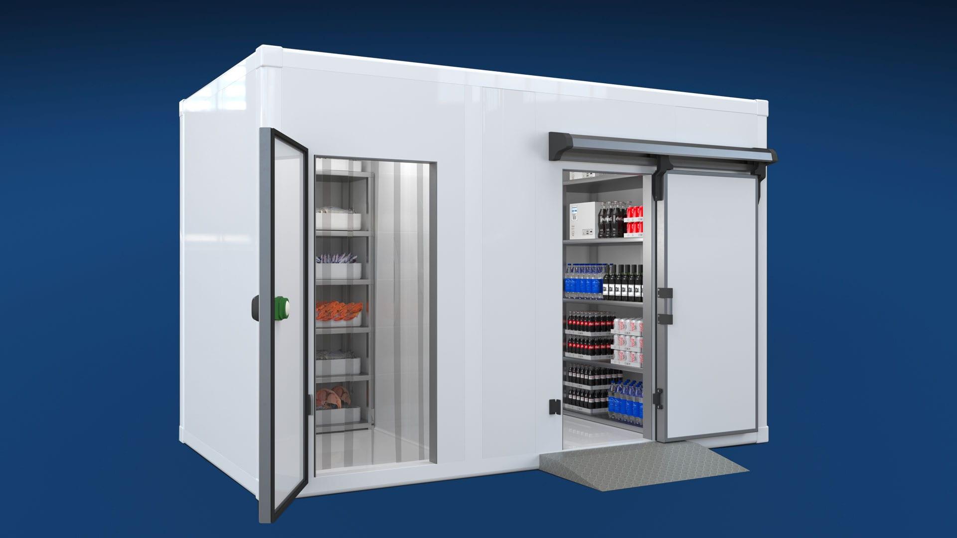 سردخانه و یخچال صنعتی