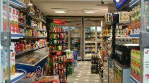 بررسی عوامل موثر بر درآمد سوپر مارکت